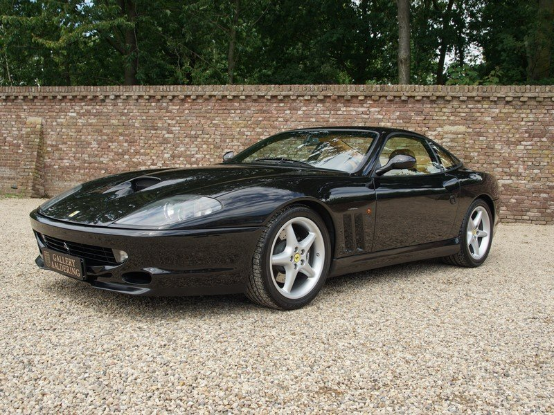 2000 Ferrari 550 Maranello Swiss car, only 58.325 km, known histo For Sale (picture 1 of 6)