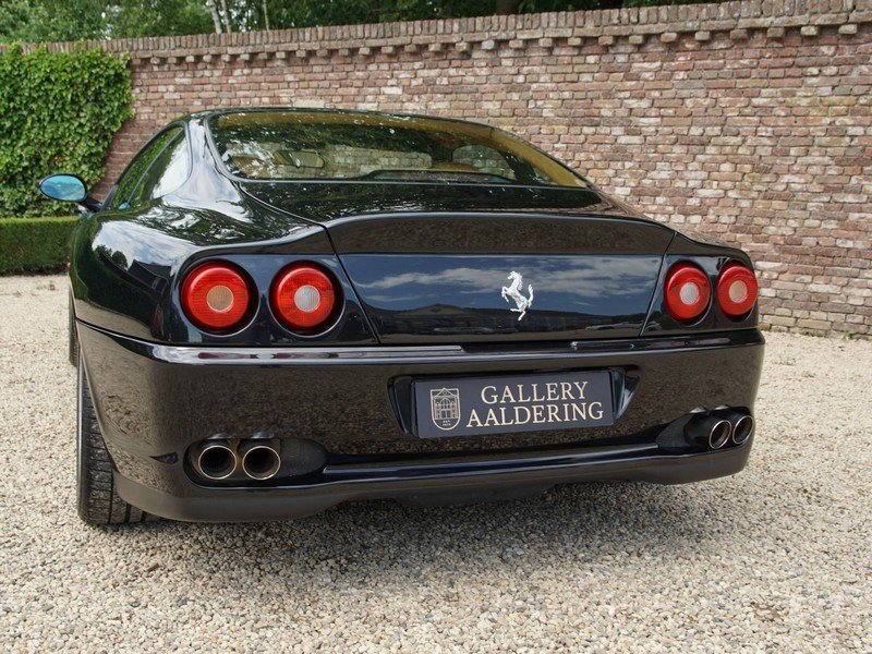 2000 Ferrari 550 Maranello Swiss car, only 58.325 km, known histo For Sale (picture 6 of 6)
