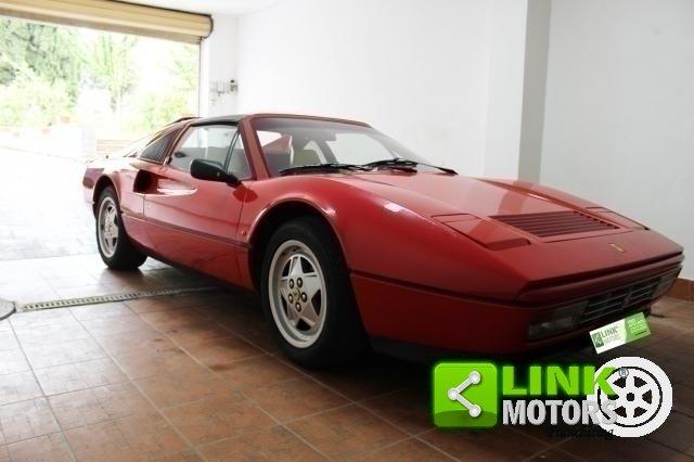 1988 Ferrari 328 GTS- CERTIFICATA-UNICO PROPRIETARIO-POCHI KM-AS For Sale (picture 1 of 6)
