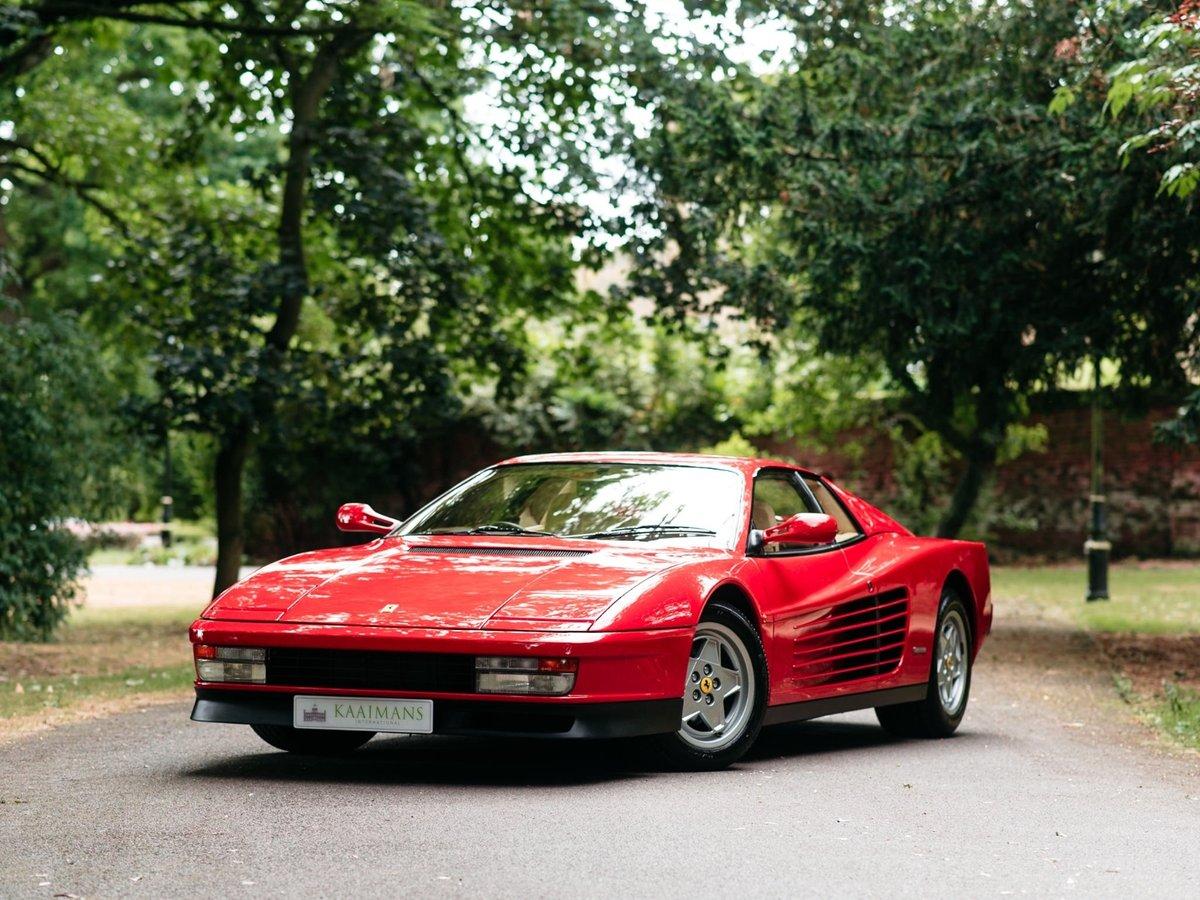 1991 Ferrari Testarossa - 1 owner - low mileage For Sale (picture 1 of 6)