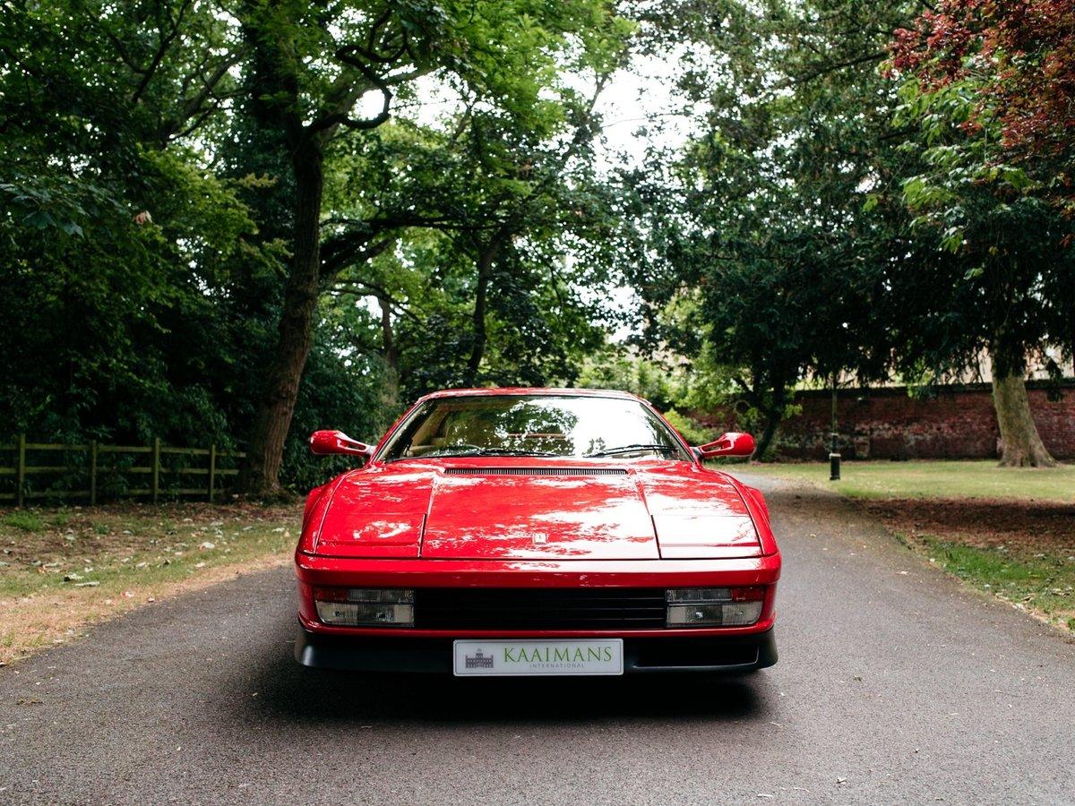 1991 Ferrari Testarossa - 1 owner - low mileage For Sale (picture 2 of 6)