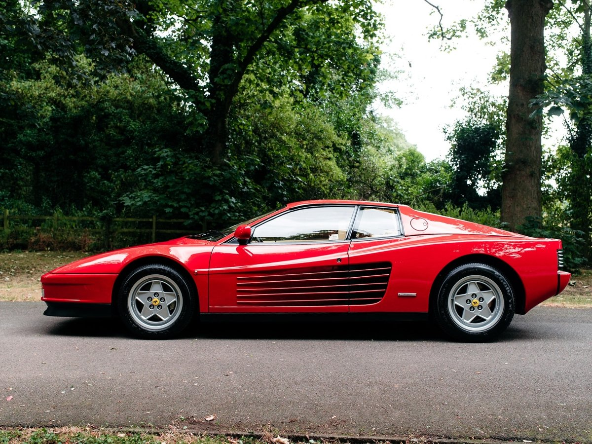 1991 Ferrari Testarossa - 1 owner - low mileage For Sale (picture 3 of 6)