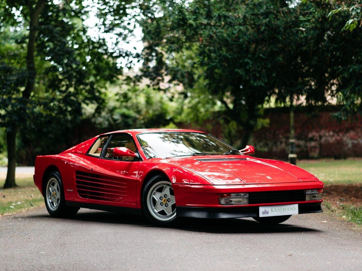 1991 Ferrari Testarossa - 1 owner - low mileage For Sale (picture 4 of 6)