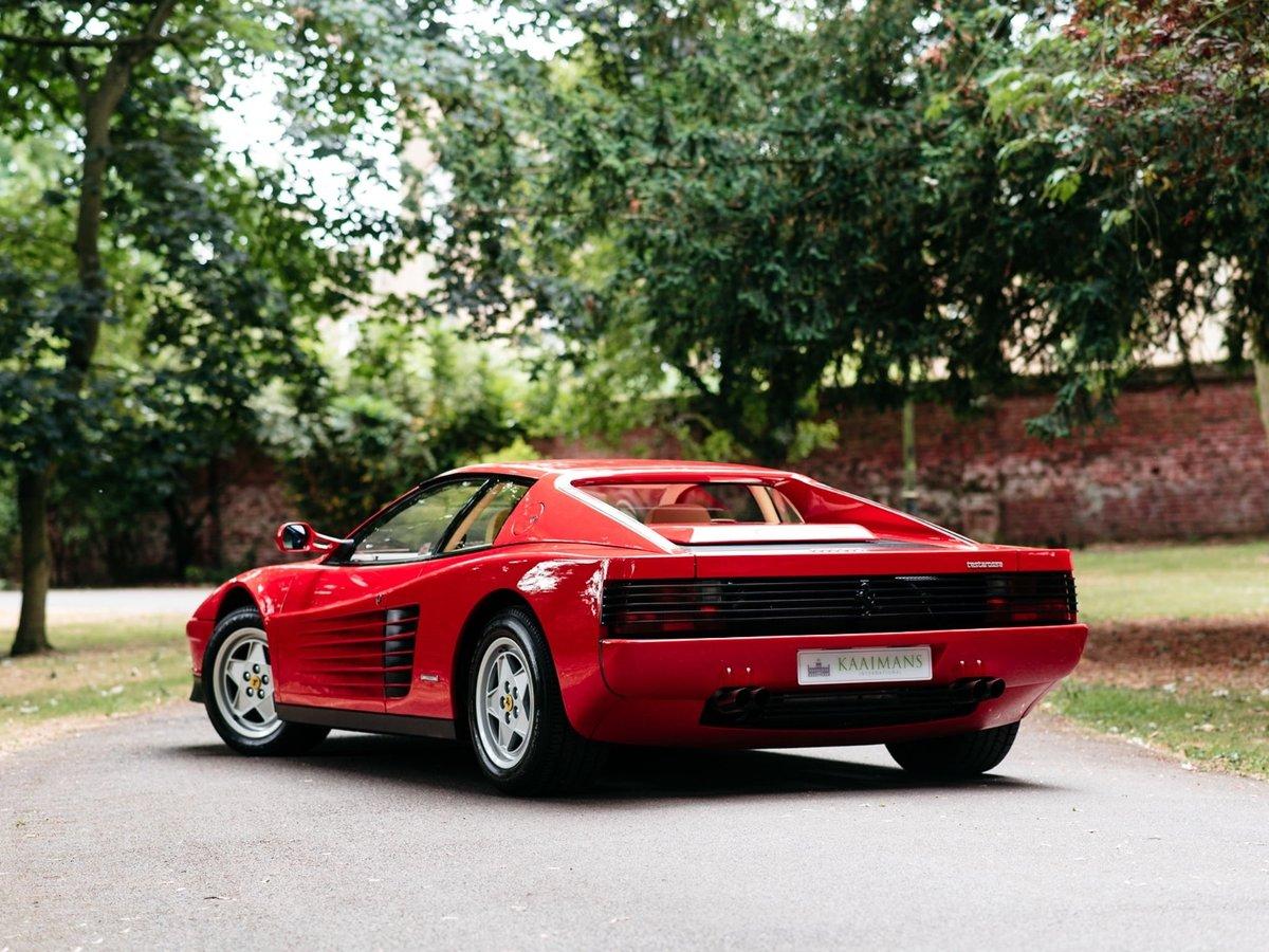 1991 Ferrari Testarossa - 1 owner - low mileage For Sale (picture 5 of 6)