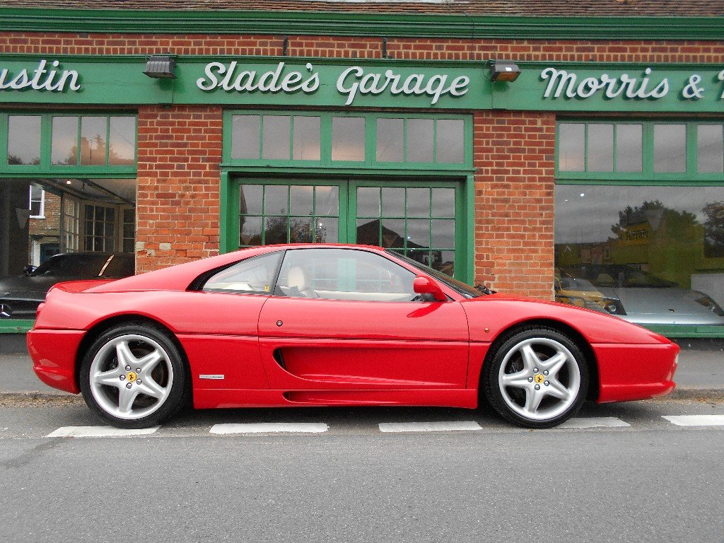 1996 Ferrari 355 Manual Coupe  SOLD (picture 1 of 4)