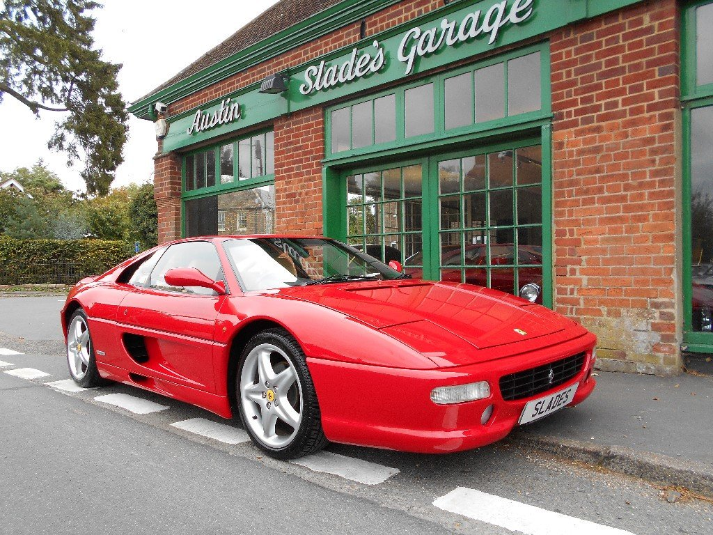 1996 Ferrari 355 Manual Coupe  SOLD (picture 2 of 4)