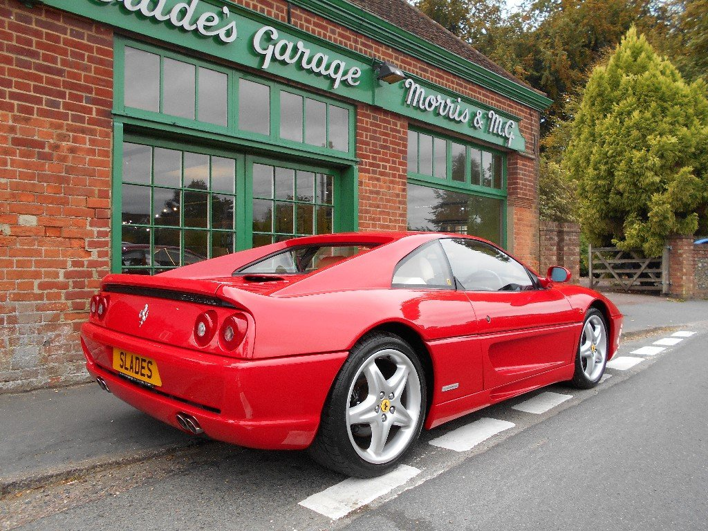 1996 Ferrari 355 Manual Coupe  SOLD (picture 3 of 4)