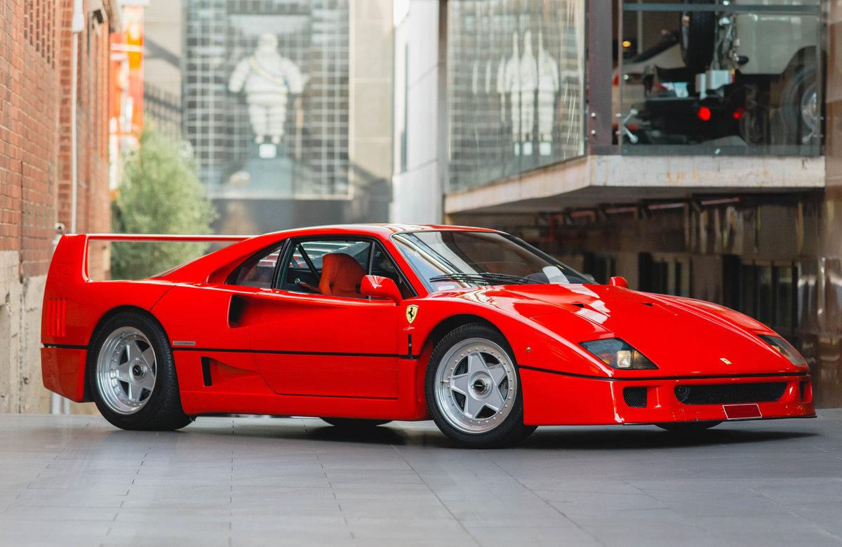 1990 Ferrari F40 For Sale (picture 1 of 6)
