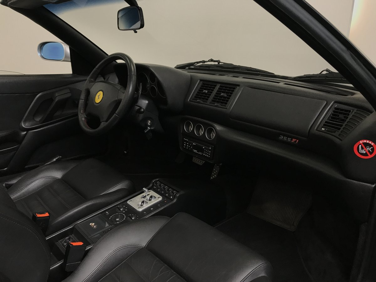 1999 Ferrari f355 f1 spider (matching numbers) LHD For Sale (picture 5 of 6)