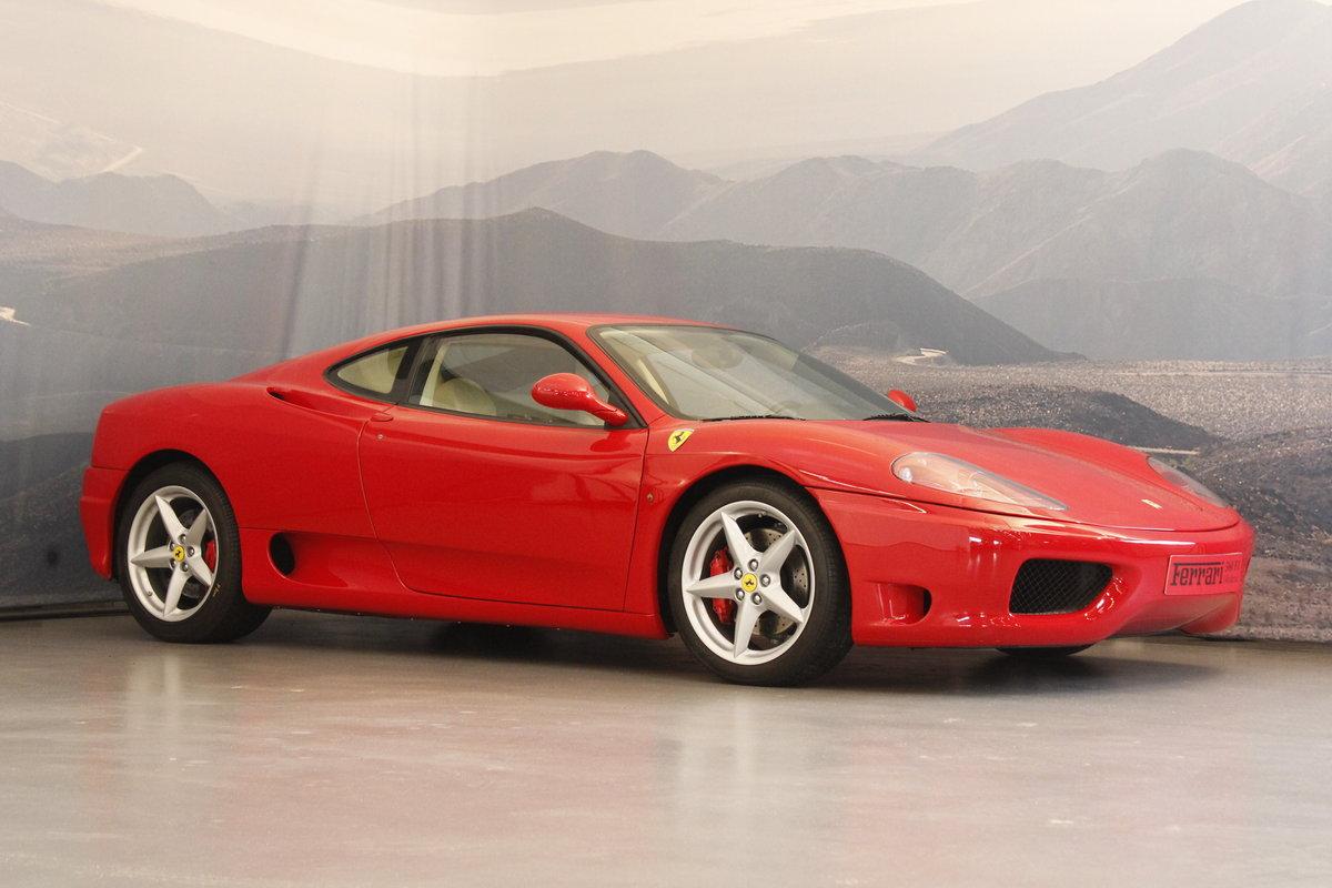 2005 Ferrari F360 Modena F1 For Sale (picture 1 of 6)