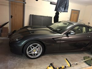 2008 Ferrari 599 GTB, 7,000 miles 1 driver owner FFSH, LIKE NEW