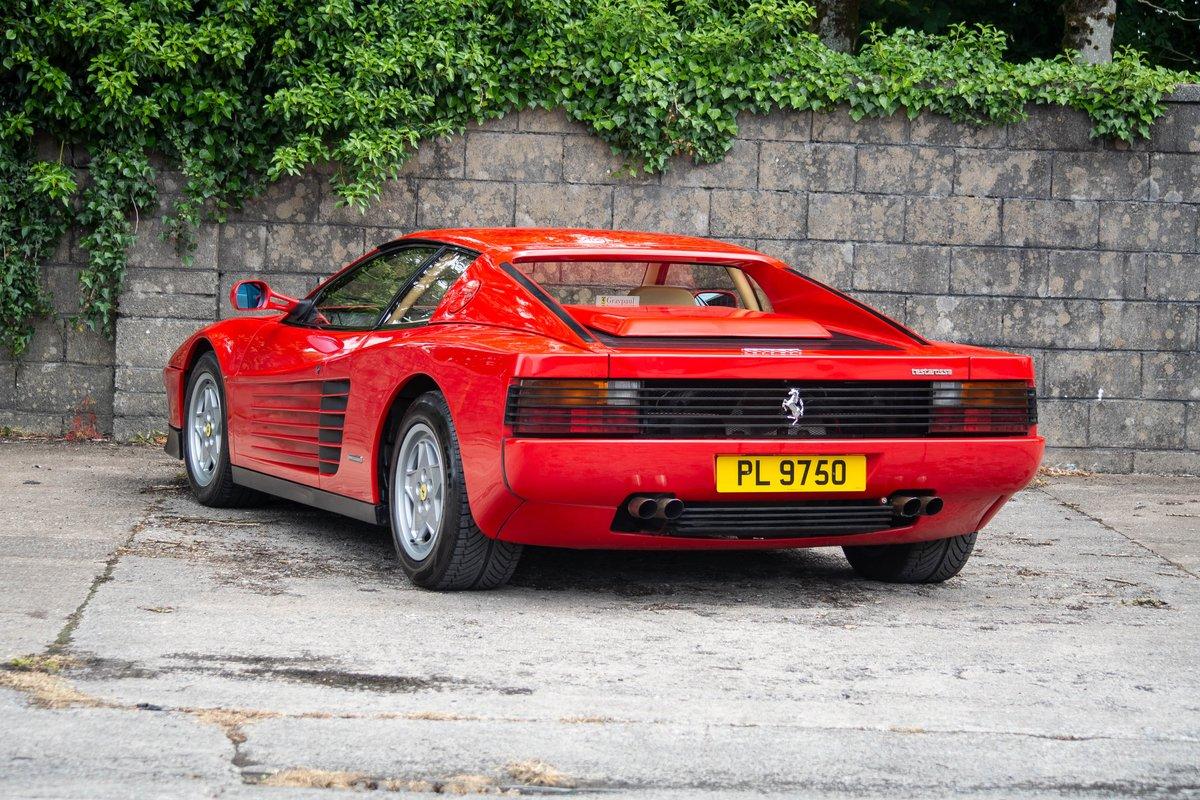 1991 Ferrari Testarossa SOLD by Auction (picture 1 of 6)