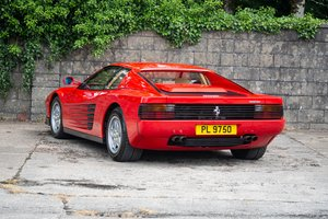 1991 Ferrari Testarossa SOLD by Auction