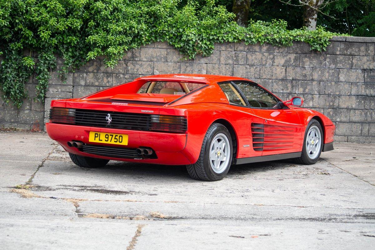 1991 Ferrari Testarossa SOLD by Auction (picture 2 of 6)