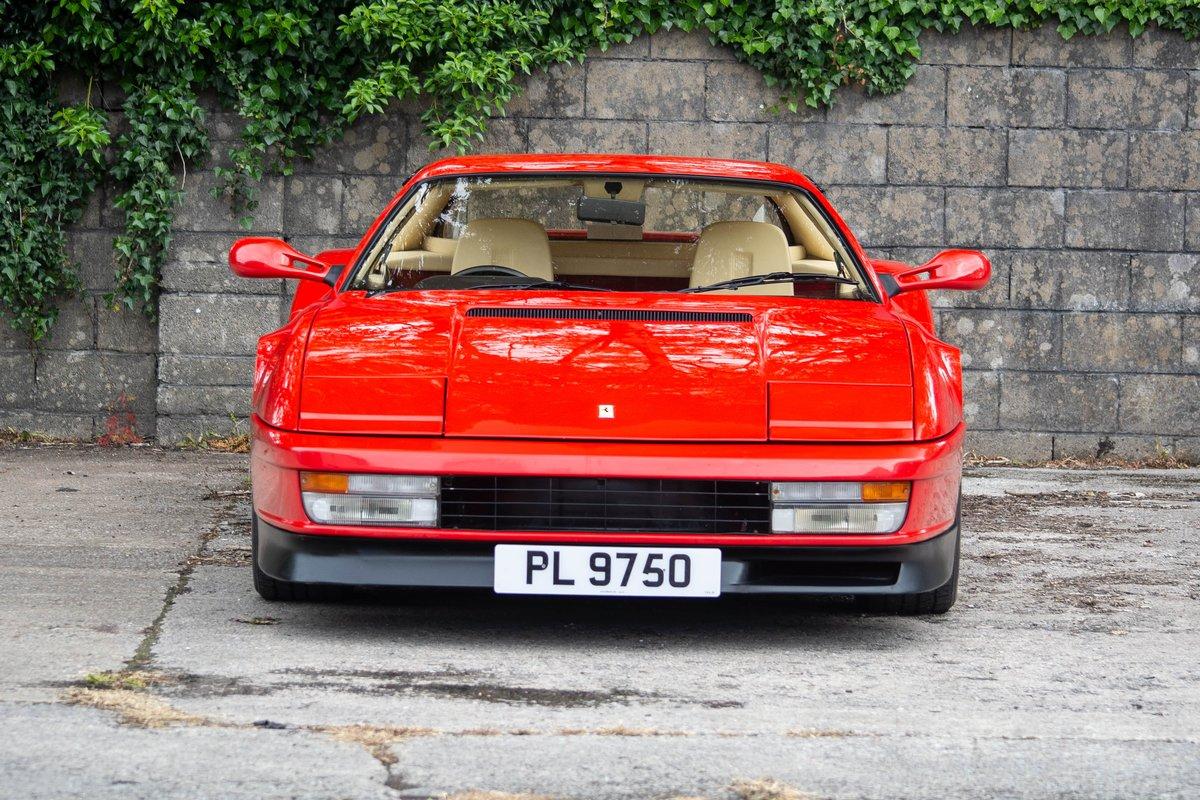 1991 Ferrari Testarossa SOLD by Auction (picture 3 of 6)