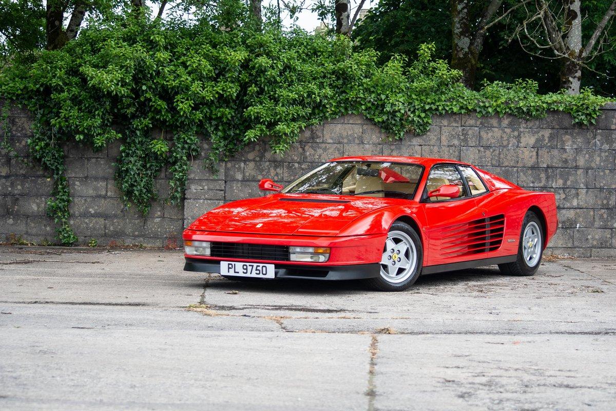 1991 Ferrari Testarossa SOLD by Auction (picture 4 of 6)