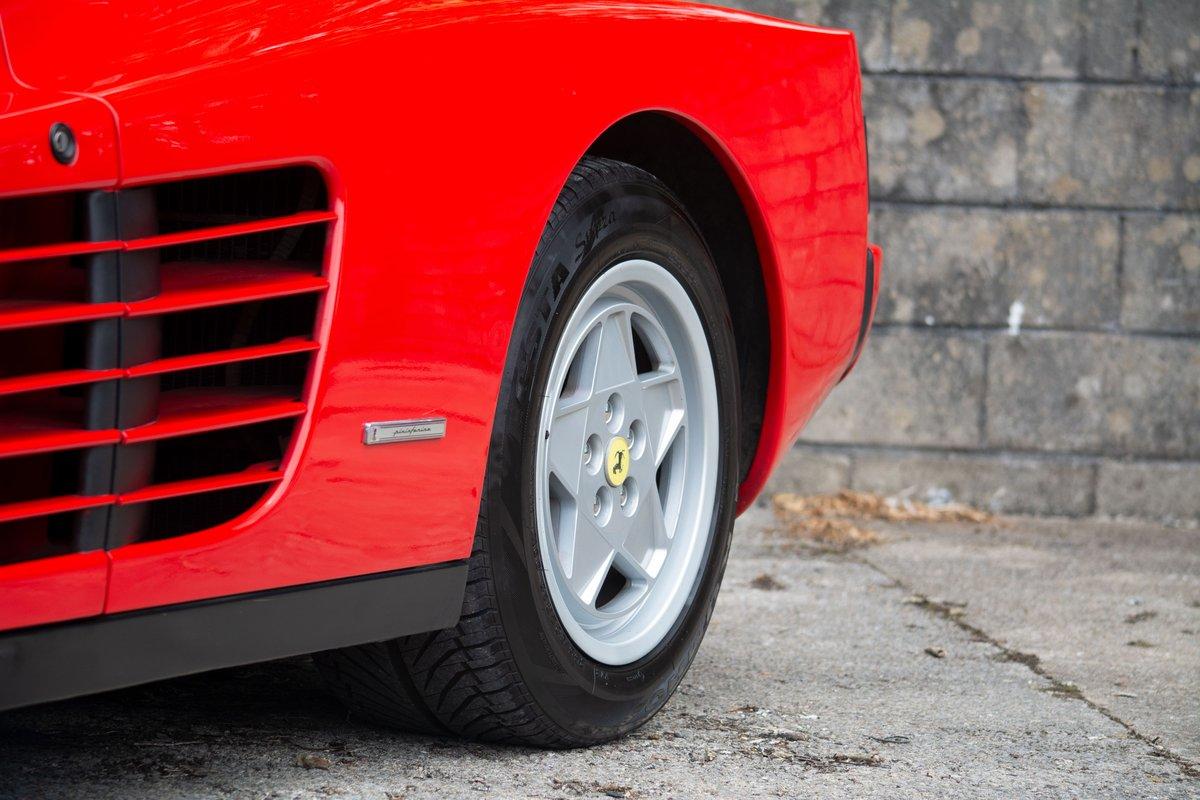 1991 Ferrari Testarossa SOLD by Auction (picture 6 of 6)
