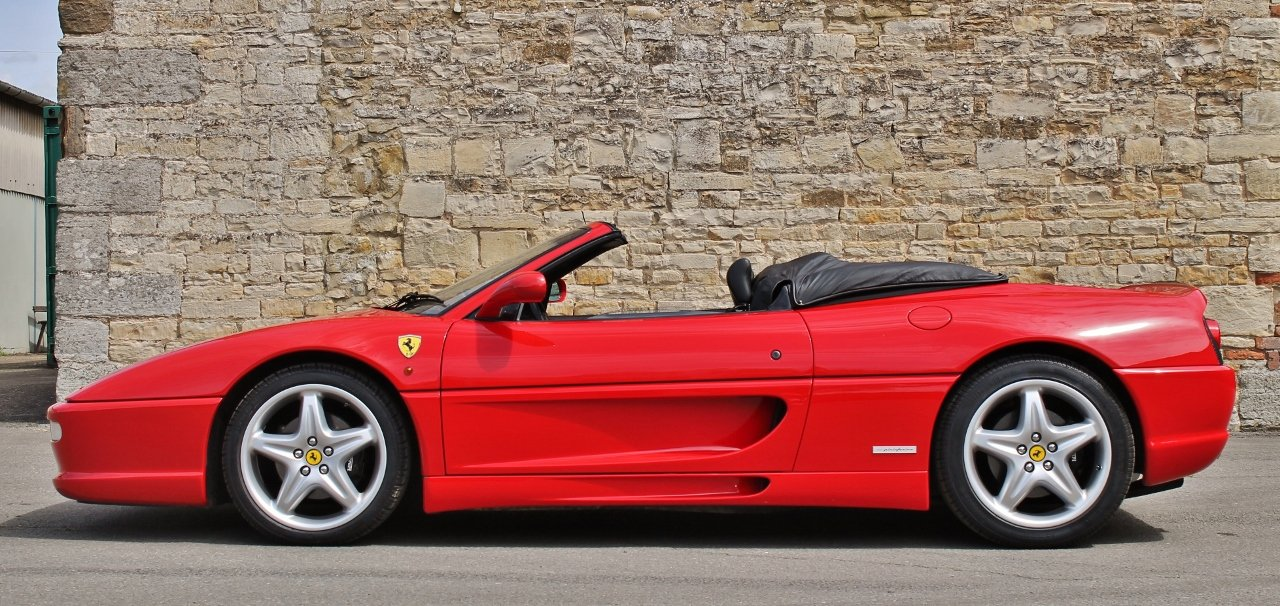 1997 Ferrari F355 Spider SOLD by Auction (picture 1 of 6)