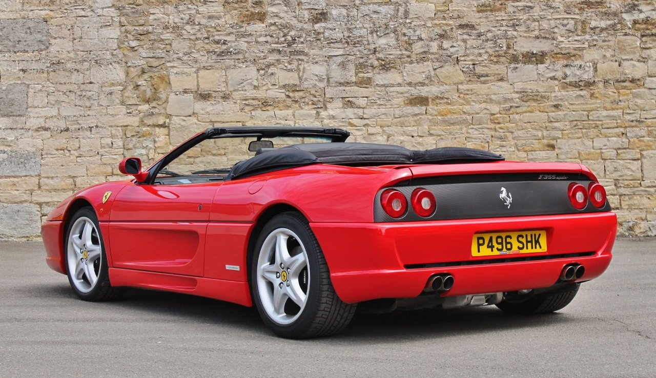 1997 Ferrari F355 Spider SOLD by Auction (picture 3 of 6)