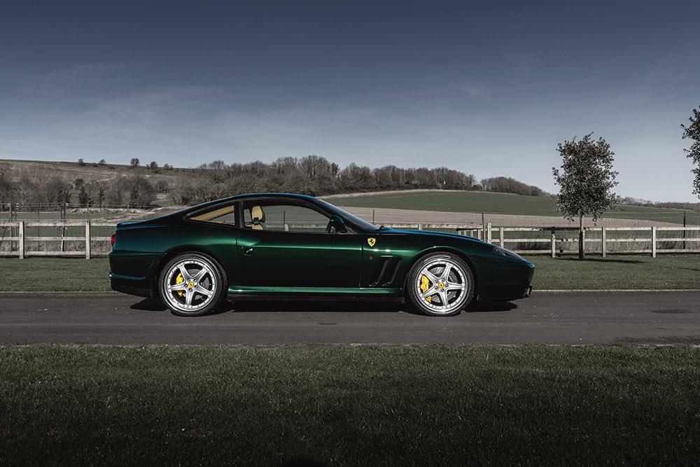 2002 Ferrari 575M Maranello F1 SOLD by Auction (picture 1 of 6)