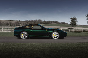 2002 Ferrari 575M Maranello F1 SOLD by Auction