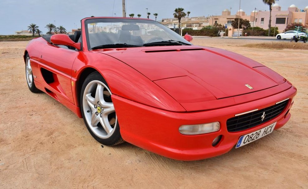 1996 Ferrari F355 Spider SOLD by Auction (picture 1 of 6)