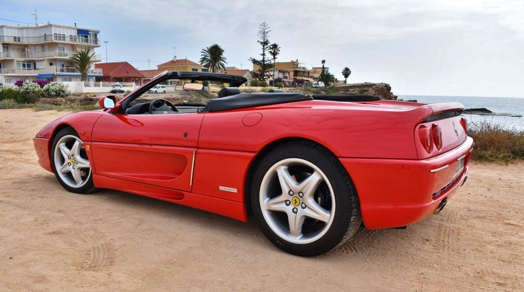 1996 Ferrari F355 Spider SOLD by Auction (picture 6 of 6)