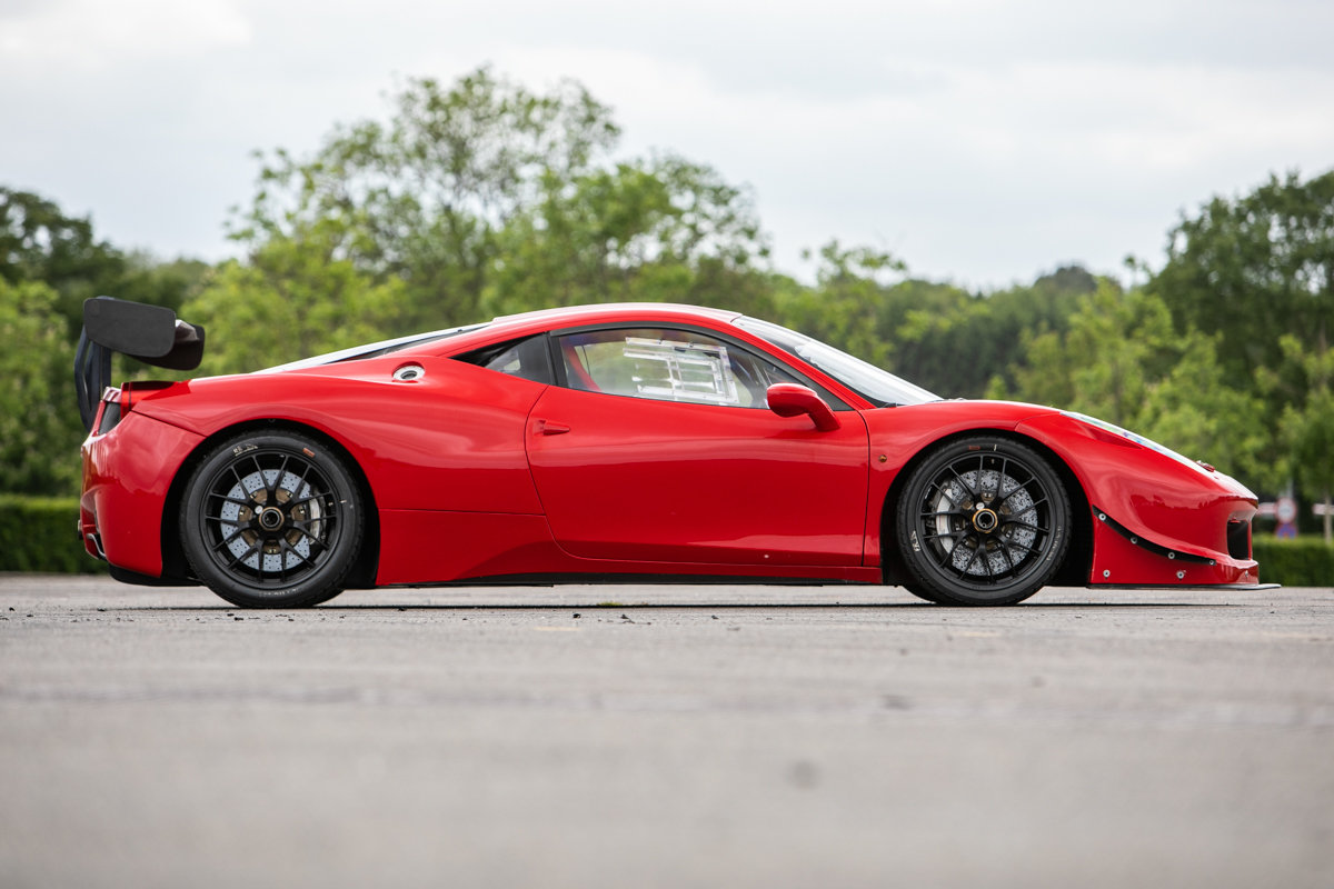 2012 Ferrari 458 Challenge SOLD by Auction (picture 1 of 6)