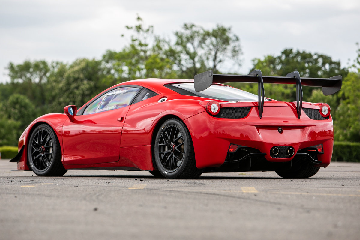 2012 Ferrari 458 Challenge SOLD by Auction (picture 3 of 6)