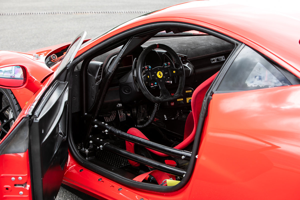 2012 Ferrari 458 Challenge SOLD by Auction (picture 4 of 6)