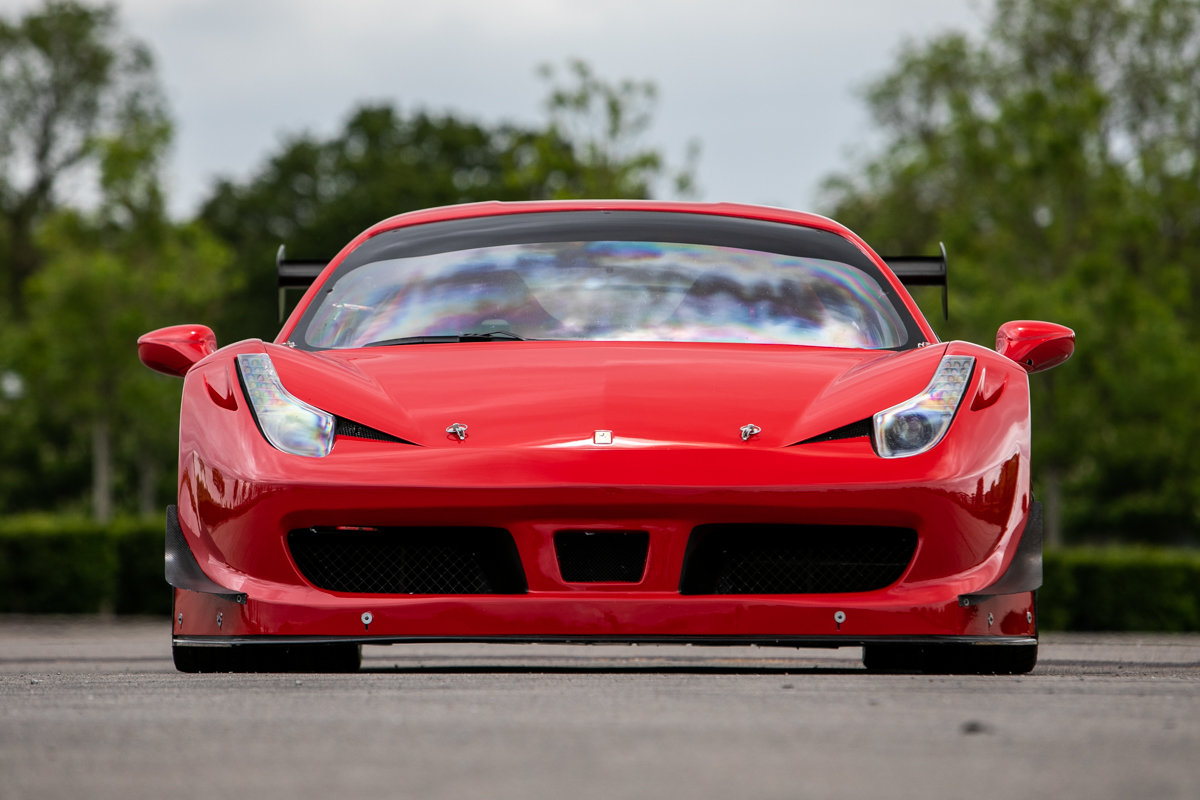 2012 Ferrari 458 Challenge SOLD by Auction (picture 6 of 6)