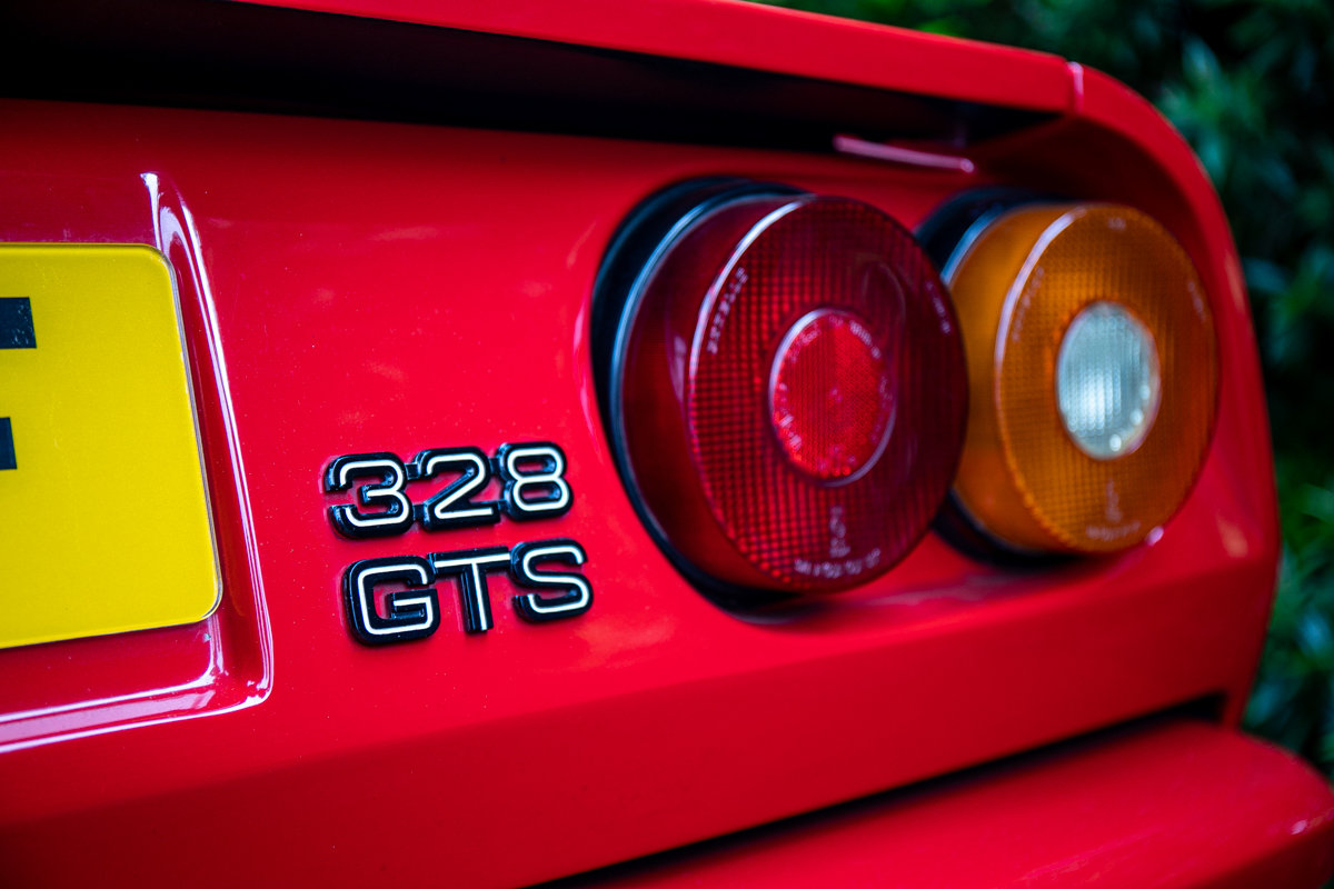 1989 Ferrari 328 GTS SOLD by Auction (picture 1 of 6)