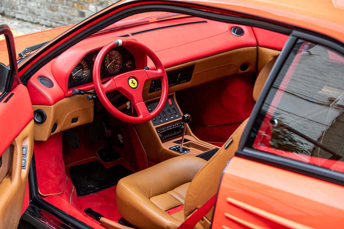 1991 Ferrari Mondial 3.4T SOLD by Auction (picture 2 of 6)