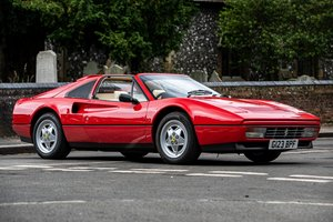 1989 Ferrari 328 GTS - 'Best in Class' at FOC Concours 2016 For Sale by Auction