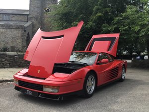 FERRARI TESTAROSSA,1990.  OUTSTANDING. £99,995 For Sale