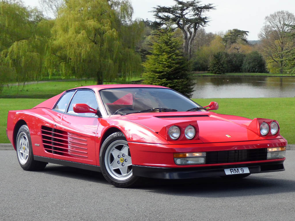 1988 Ferari Testarossa - UK RHD Car, 7,402 Miles!! Must See. For Sale (picture 1 of 6)