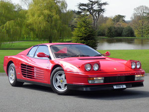1988 Ferari Testarossa - UK RHD Car, 7,402 Miles!! Must See. For Sale