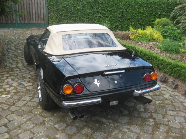 1981 Ferrari 365 GTB /4 DAYTONA SPYDER RECREATION MIAMI VICE ! For Sale (picture 2 of 6)