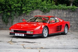 1991 FERRARI TESTAROSSA For Sale by Auction