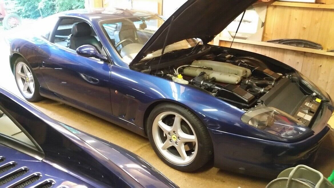 Ferrari 550 Maranello 1998   TDF Blue RHD UK Car For Sale (picture 5 of 6)