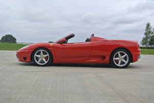 2002 Ferrari 360 Spider Manual For Sale