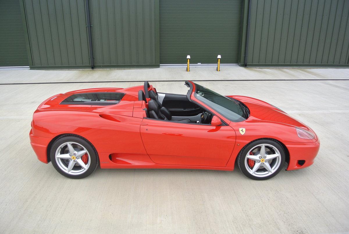 2002 Ferrari 360 Spider Manual For Sale (picture 2 of 6)