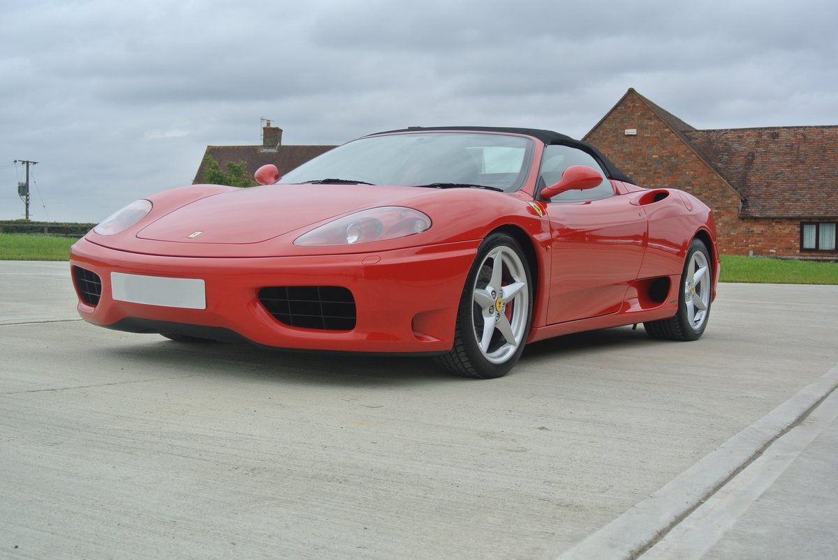 2002 Ferrari 360 Spider Manual For Sale (picture 4 of 6)
