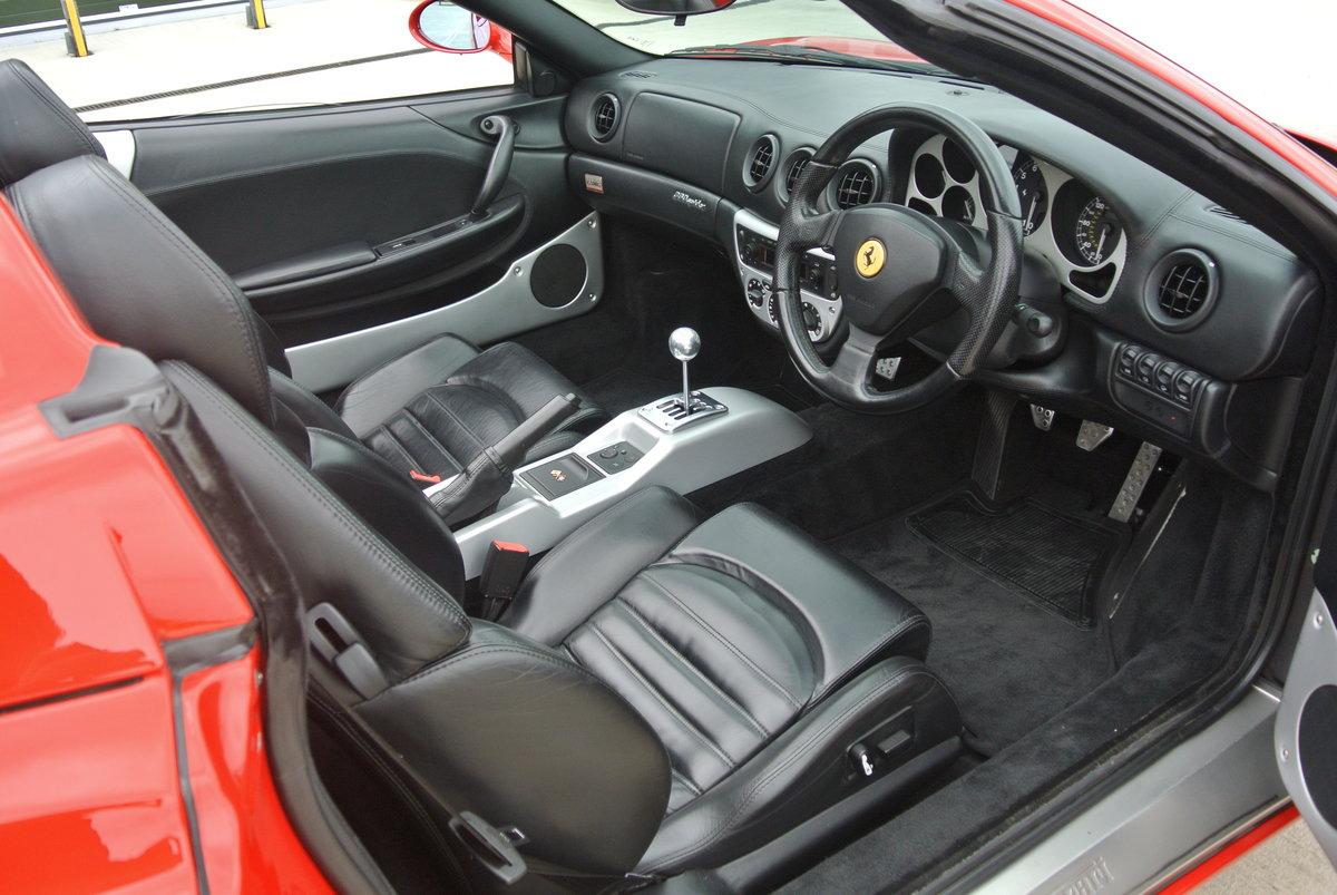 2002 Ferrari 360 Spider Manual For Sale (picture 5 of 6)