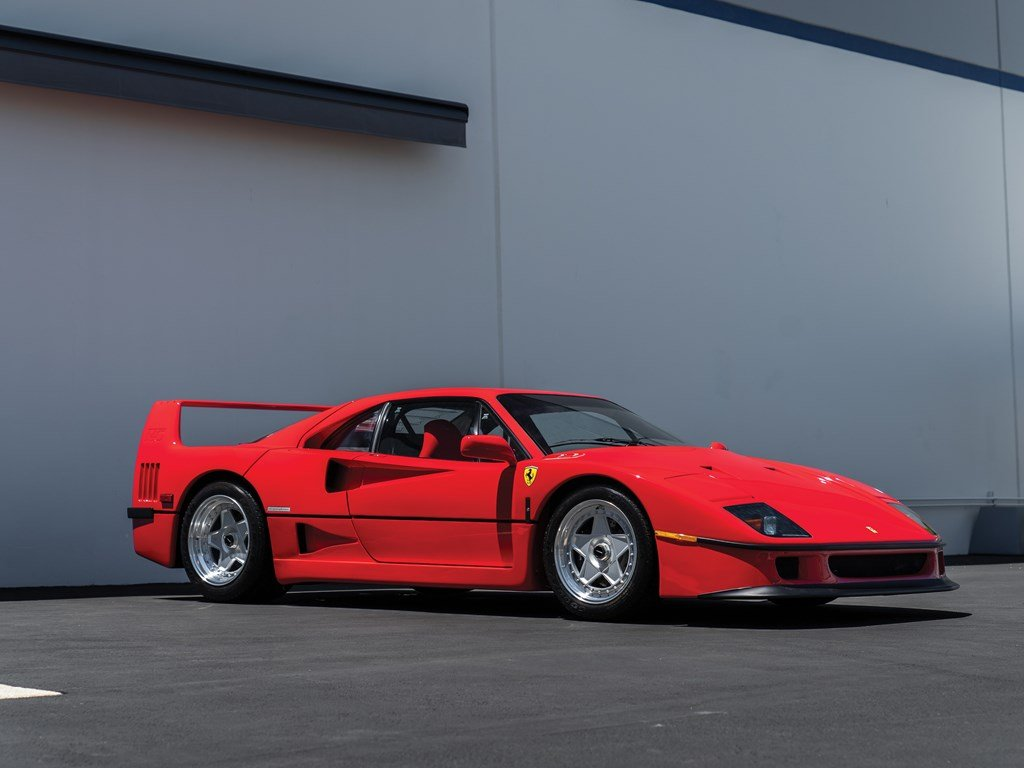1991 Ferrari F40  For Sale by Auction (picture 1 of 6)