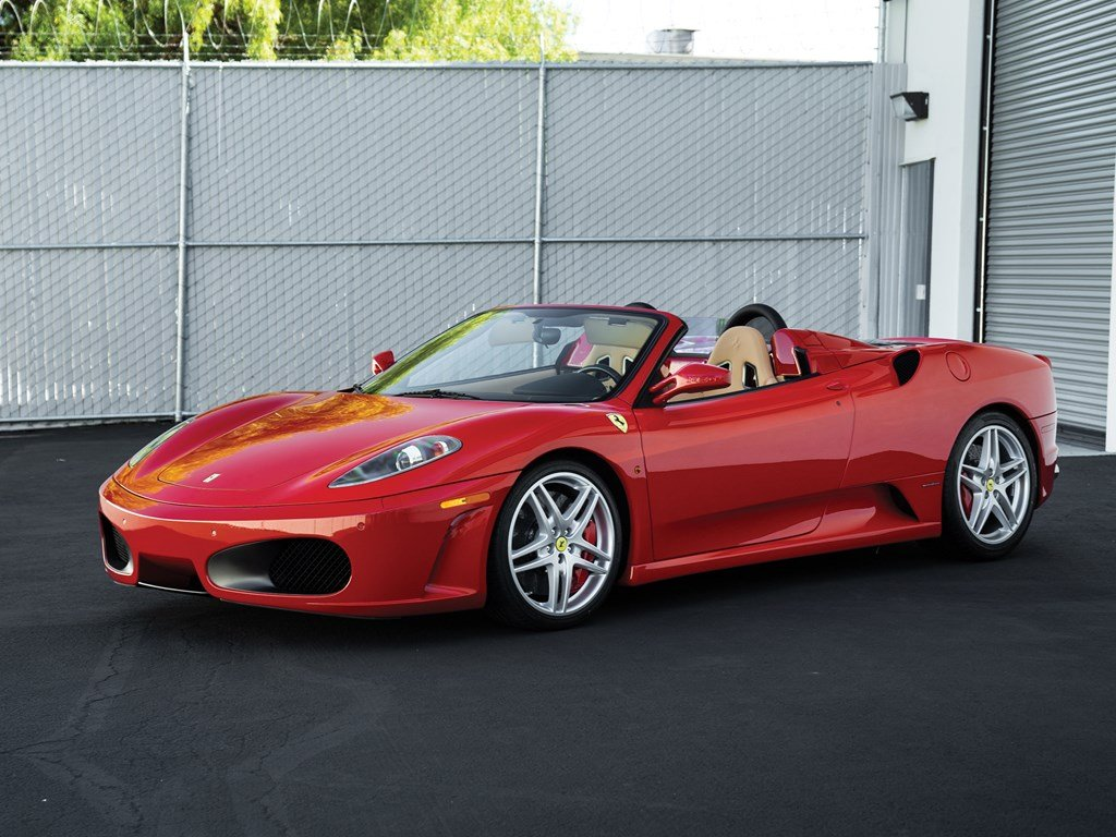 2007 Ferrari F430 F1 Spider  For Sale by Auction (picture 1 of 6)