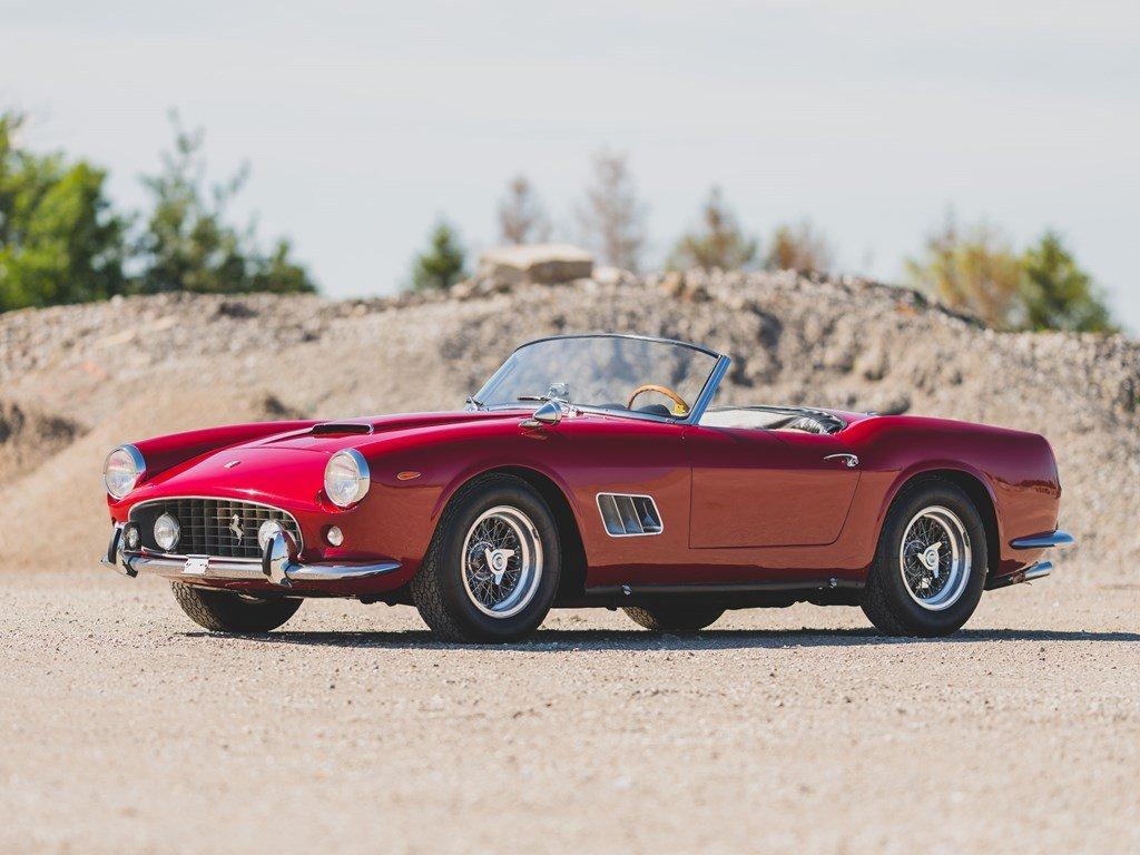 1962 Ferrari 250 California SWB Spider by Scaglietti For Sale by Auction (picture 1 of 6)