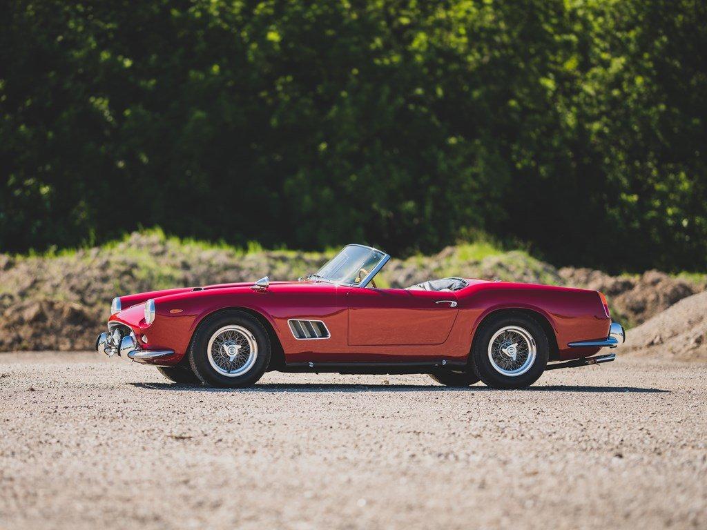 1962 Ferrari 250 California SWB Spider by Scaglietti For Sale by Auction (picture 5 of 6)