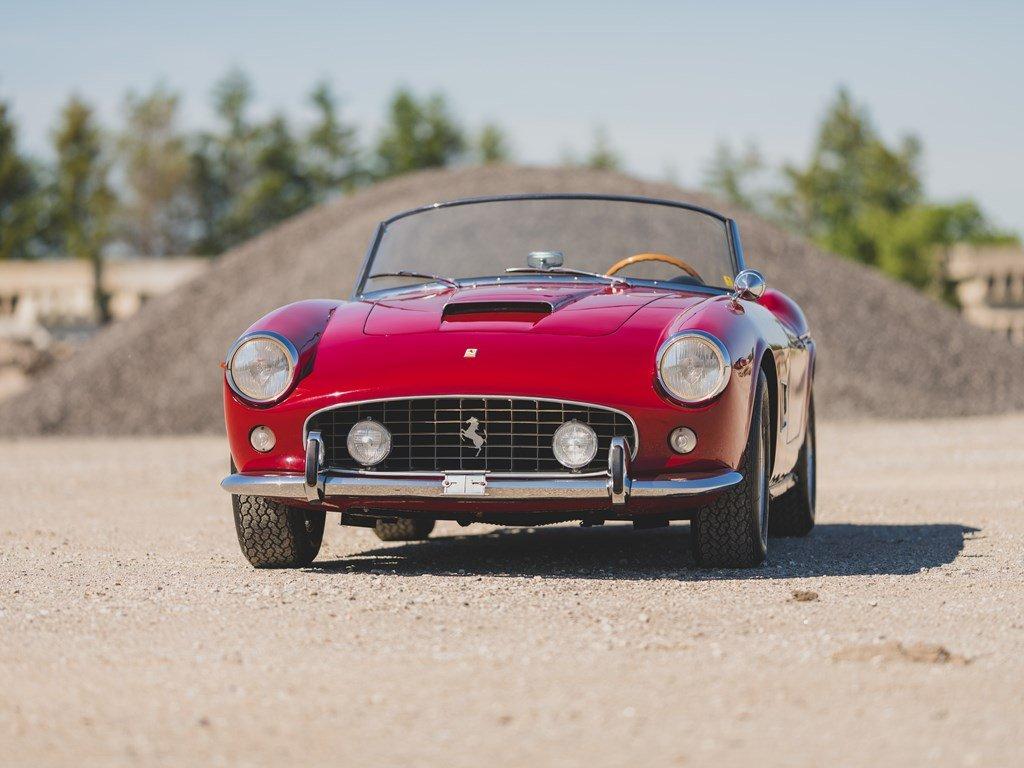 1962 Ferrari 250 California SWB Spider by Scaglietti For Sale by Auction (picture 6 of 6)