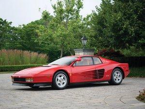 1986 Ferrari Testarossa  For Sale by Auction